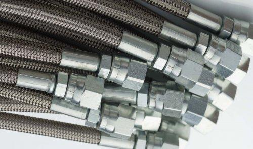Metal Stainless Steel Braided