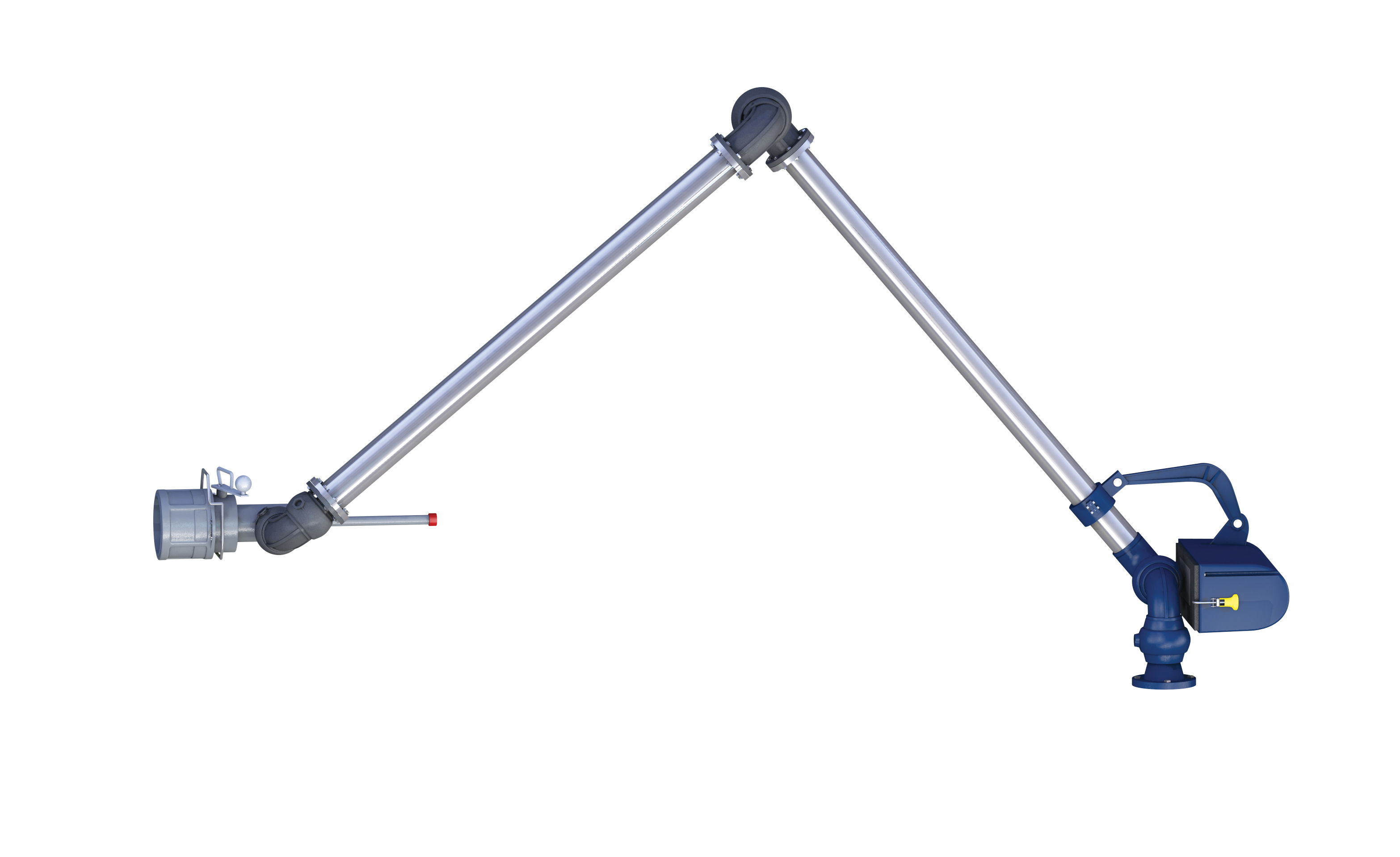 Hydraulic Loading Arms : Bottom load ontario hose specialties limited
