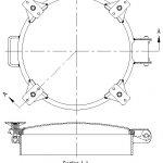20″ 316SS ASME Full Opening Manhole Assembly